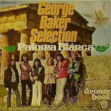 """GEORGE BAKER SELECTION 'PALOMA BLANCA' GERMAN IMPORT PICTURE SLEEVE 7"""" SINGLE"""