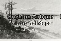 Antique Print 32-380 - Perth Anon - circa 1886 Wood engraving 30cm X 25cm Con...