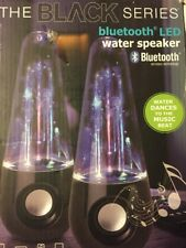 Computer Laptop iPad PC Wireless LED Dancing Water Fountain Bluetooth Speakers