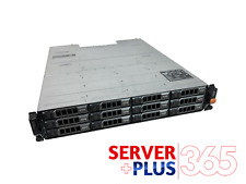 Dell PowerVault MD1200 2x SAS EMM 2x PSU, Power Cables, No HDDs, 12x Caddies