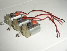 Scalextric - 3x Mabuchi Motor, Pignone e fili