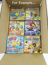 Kutsuwa DIY Eraser Making Kit Random 6 Box set Choose from 10 types F/S Japan