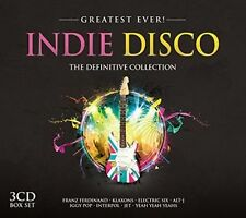 VARIOUS ARTISTS - GREATEST EVER INDIE DISCO: THE DEFINITIVE COLLECTION NEW CD
