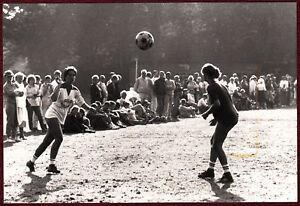 1970s Original Press Photo Zafar Sport Women Football