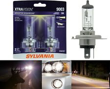 Sylvania Xtra Vision 9003 HB2 H4 60/55W Two Bulb Head Light Dual Beam Upgrade OE