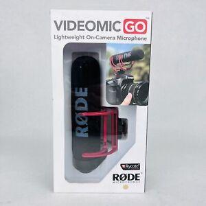Rode VideoMic GO Camera Mount Shotgun Microphone New Sealed