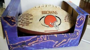 CLEVELAND BROWNS - NFL FOTOBALL Souvenir Football Vintage Limited Edition 20,000