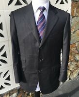 Ermenegildo Zegna Two Piece Suit HERITAGE Gray Blue Beige Striped Size 42 R