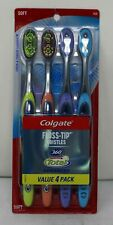 Colgate Floss-Tip Bristles Total Advanced Soft 4 Pack
