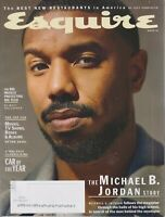 Esquire Winter 2020 The Michael B. Jordan Story  (Magazine: Men's, General Inter