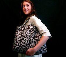 Kate Spade Streetcar Darya SNOW Leopard Calfhair $1295 FUR Handbag SIENNA MILLER