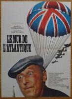 LE MUR DE L'ATLANTIQUE Bourvil 1970 Affiche Originale 60x80 Vintage Movie Poster