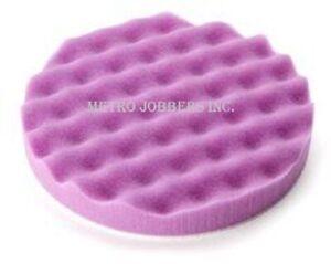 3M 33042 Perfect-It™ 1-Step Foam Finishing Pad, 6 in, Hookit™, 2 pads per bag