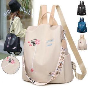 Frauen Rucksack Mode Anti-Diebstahl-Druck Schultasche Große Kapazität Tasche