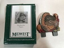 Midwest Of Cannon Falls Turkey Thanksgiving Fall Cast Iron Door Knocker Topper