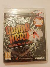 Guitar Hero:Warriors of Rock PlayStation 3 Ps3 pal España Nuevo y Sellado