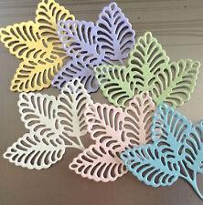 NEW ✿ 3 Elegant Scallop Open Fan Leaf Leaves Die ✿ For Cuttlebug & Sizzix ✿