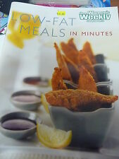 Womens Weekly recipe book LOW FAT MEALS IN MINUTES EUC