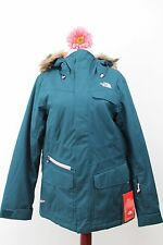 NWT North Face Women's Baker Deluxe Insulated Waterproof Hyvent Jacket $299 Blue