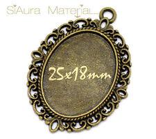 Bronze Modeschmuck-Halsketten & -Anhänger mit Beauty-Thema