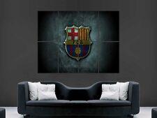 Barcelona FC fútbol Pared Arte Imagen Poster Gigante Enorme