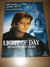 LIGHT OF DAY - Kinoplakat A1 ´88 - MICHAEL J. FOX Joan Jett