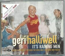 GERI HALLIWELL It's Raining Men DUTCH 4 TRACK CD W VIDEO TR SPICE GIRLS