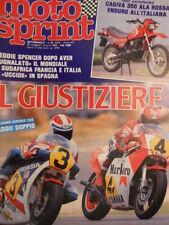 Motosprint 21 1983 Test Cagiva 350 Ala rossa - Dominio Freddie Spencer  [SC.31]