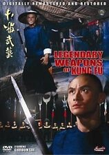 LEGENDARY WEAPONS OF CHINA-----Hong Kong RARE Kung Fu Martial Arts Action movie