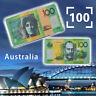 WR New Style Australian 100 Dollar Silver Foil Square Commemorative Coin Gifts