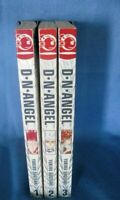 Lot of 3 D.N. Angel Manga In English Books by Yukiru Sugisaki 1,2,3