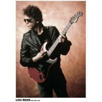 "LOU REED COLOUR POSTER - NEW YORK 1983 - 84 x 60 cm 33"" x 24"""