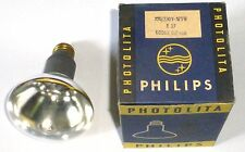 Lampe Flood Photolita 230 volts 375 watts culot E27 dans sa boite Philips