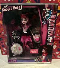New in box Monster High Ghouls Rule Draculaura 2012 doll