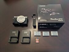 Canon PowerShot G7 X Mark III - 20.1MP Point & Shoot Digital Camera - Silver