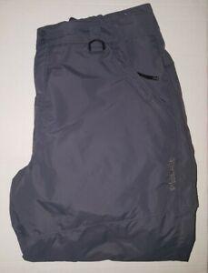 Columbia Men Grey Snow Pants ,Size XL