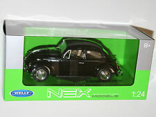 Welly - VW Volkswagen BEETLE (1959) Black - Die Cast Model Scale 1:24