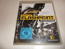 PlayStation 3  PS 3  Operation Flashpoint: Dragon Rising (Uncut)