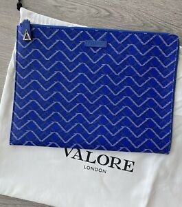 Valore London Victus Clutch Document Leather Case goyard bag made in italy £550