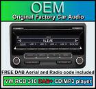 VW Interruptor 310 DAB+ Radio , SCIROCCO Reproductor de CD, Digital & Estéreo
