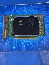 Dell NVIDIA Quadro FX580 512MB DDR3 Video PCI-e  508283-002 Tested Grade A