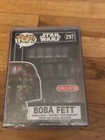Funko Pop! Star Wars Boba Fett Futura Target Exclusive in a Hard Pop Stack #297