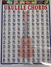 Ukulele Chord Poster Wall Beginner Chord Diagram 1058 Teaching Instruction