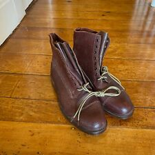 Lotus Veldtschoen Zug Boots UK 8 G Made in England Vintage New Old Stock US 9E
