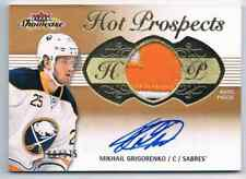 2013-14 FLEER SHOWCASE RC AUTO PATCH MIKHAIL GRIGORENKO ROOKIE AUTO AUTO PATCH 3