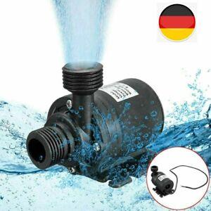 Wasserpumpe Selbstansaugende Pumpe 12V 800L Hochdruckpumpe Membranpumpe Pumpe DE