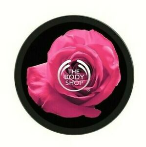 THE BODY SHOP British Rose Instant Glow Body Butter 200ml – NEW – VEGAN