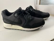 Nike Air Pegasus 89 Men's Running Shoes Black Palm Gre 344082 030 Sz 10