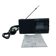 Sony ICF-SW600 12 Band Radio With Manual