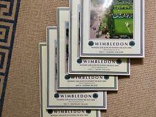 FIVE WIMBLEDON TENNIS PROGRAMMES 2006 Days 2, 5, 8, 9, & 11 VGC